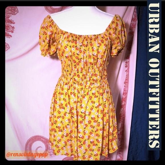 319da5d0b31dc Urban Outfitters Dresses   Hello Sunshine Romper   Poshmark